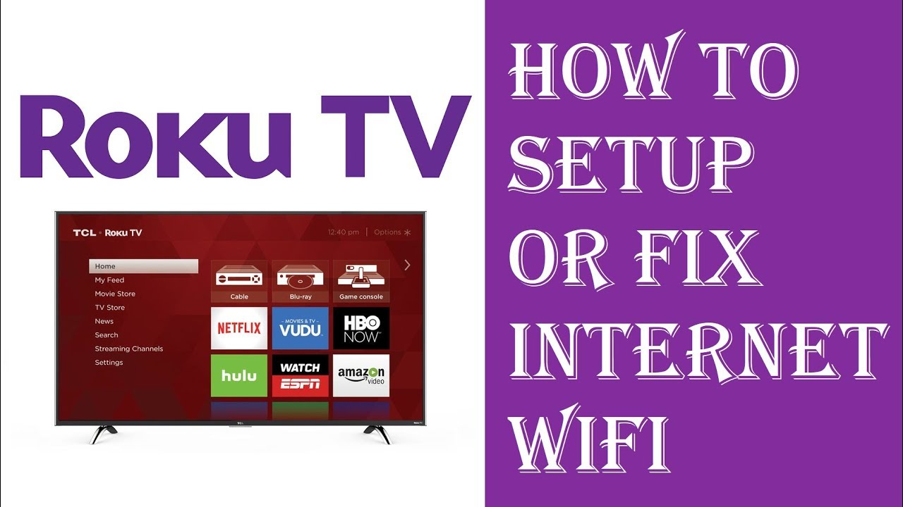 Roku Tv Setup Internet Wifi Or Wired Ethernet Wiring Jack Connection Issues Problems Fixed