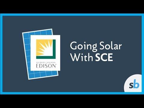 Going Solar in SCE