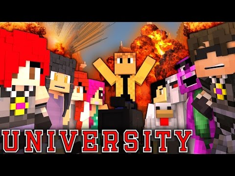 "MINECRAFT UNIVERSITY! - ""FILM SCHOOL INSANITY"" #3 (Minecraft Roleplay)"