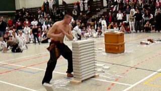 Bruchtest - Parkour - Weltrekord 2009 Teil 1 - Olaf Malutschenko