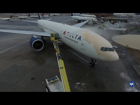 Jet-fueled Jobs | Deicing The Planes
