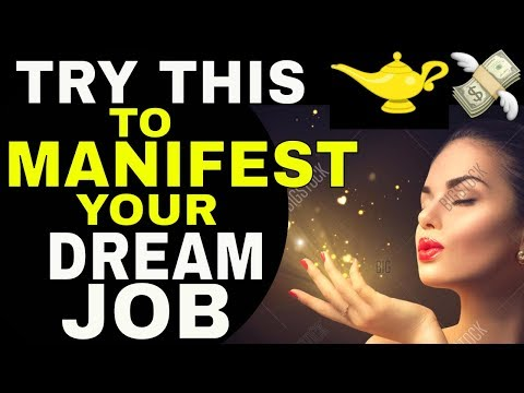 3 Magical Steps To Get A Better Job (Or Dream Job) With The Law of Attraction (NO DEGREE REQUIRED!)