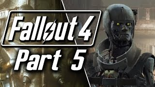 Fallout 4 Walkthrough Gameplay - Part 5 - Synth Invasion! | Revered Legend
