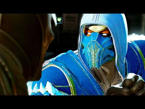INJUSTICE 2 All Sub Zero Clash Quotes Dialogue Character Banter 1080p HD