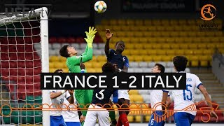 #U17 Semi-final highlights: France 1-2 Italy