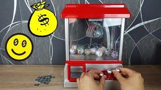 Ich spiele den Greifarm Automaten - Candy Grabber Review