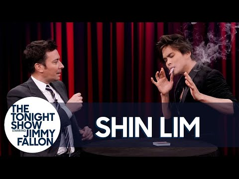 America's Got Talent Winner Shin Lim Stuns Jimmy with a Magic Trick