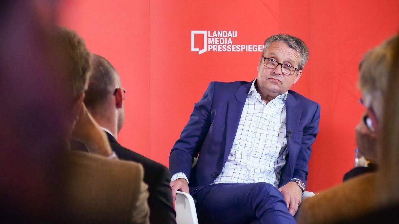 """Gabor Steingart im Gespräch mit Peter Turi: Innovationen, """"Handelsblatt"""" und Morning Briefing"""