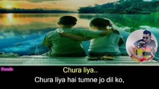 Chura-Liya-Hai-Tumne-Jo-Dil-Ko---Asha-Bhosle-Mohammed-Rafi-Duet-Hindi-Full-Karaoke-with-Lyrics