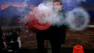 How to Make Giant Smoke Rings! - Cool Science Experiment