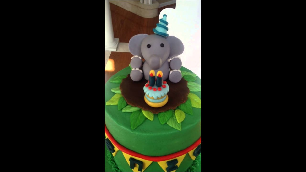 Dumbo The Elephant Birthday Cake
