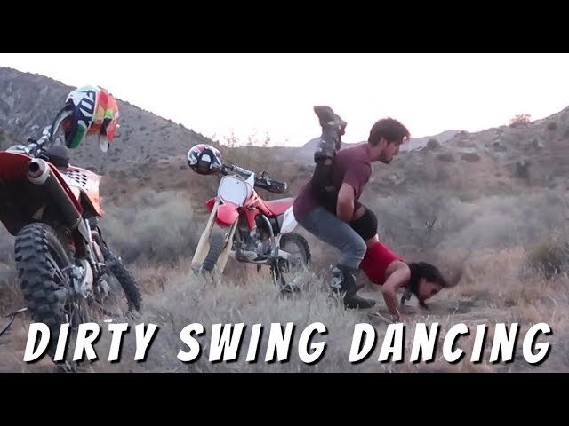 Cool Dirtbike Swing Dance Routine
