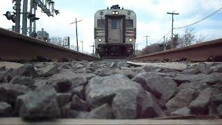 New Jersey Transit Train Runs Over My Camera
