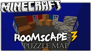 Minecraft | INFINITE LOOP ROOMS | ROOMSCAPE 3 Puzzle Map (Minecraft Custom Map)