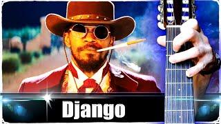Джанго освобождённый на Гитаре (Разбор)