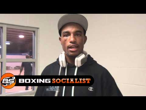 Post Fight J'Leon Love Interview Mayweather Promotions