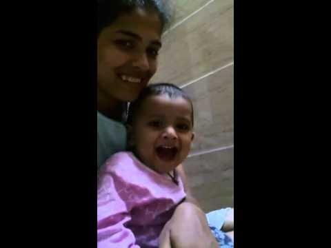 Cute Baby Saying Good Night Youtube
