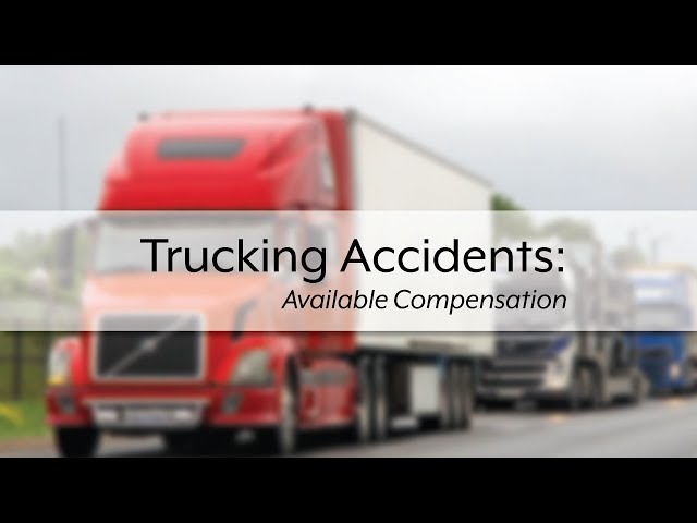 Chris Glover: Truck accident damages