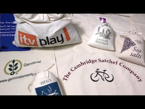 Bespoke Cotton Bags | CPL Felthams | UK Made