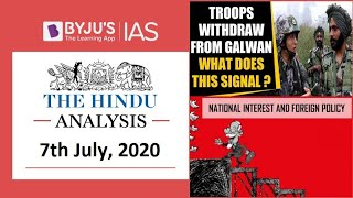 'The Hindu' Analysis for 7th July, 2020. (Current Affairs for UPSC/IAS)
