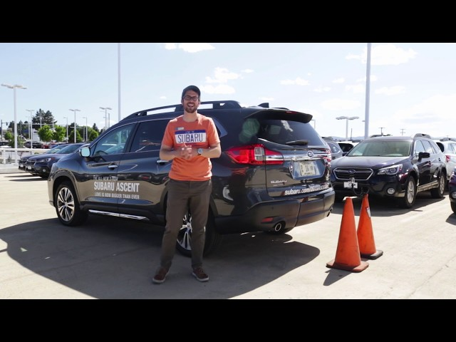 Reverse Automatic Braking (RAB) in the 2019 Subaru Ascent
