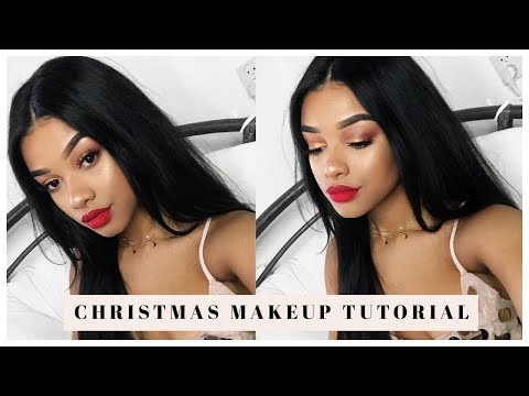 Last Minute Christmas Makeup Tutorial