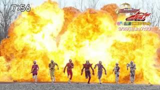 合体スペシャル「手裏剣戦隊ニンニンジャーVS仮面ライダードライブ 春休...