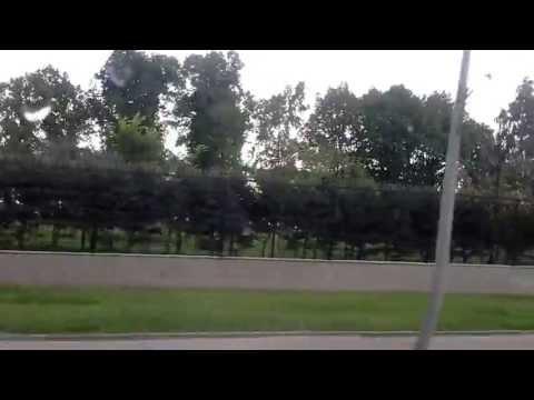 Константиновский Дворец из окна 401 маршрутки.