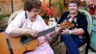 Las Morenitas Cantoras. Como que me voy curando. Tonada Chilena. Chabelita Fuentes y Fani Flores