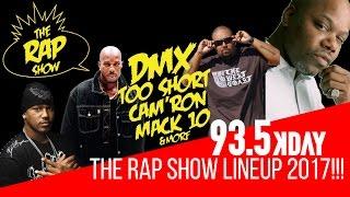 The Rap Show Lineup 2017 !!!