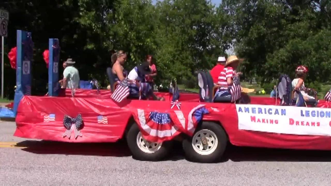 Alburgh Parade  7-4-16