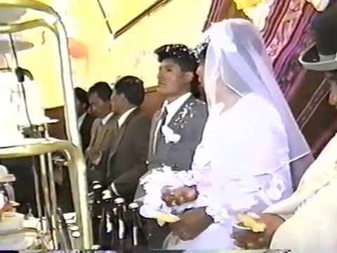 Matrimonio de la paz bolivia (RAUL Y SABINA)