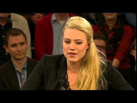 Larissa Marolt Hans Eichel Katrin Bauerfeind Werner Schneyder + Lanz Geburtstag 18. März 2014