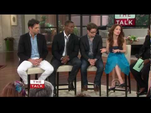 Rebecca Herbst on The Talk  June 25 2012