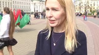 2019-04-23 г. Брест. Акция «Вперед к Европейским играм!». Новости на Буг-ТВ. #бугтв