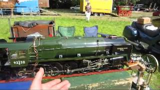 CRHnews 2-2 Evening Star - Last British Railways steam loco