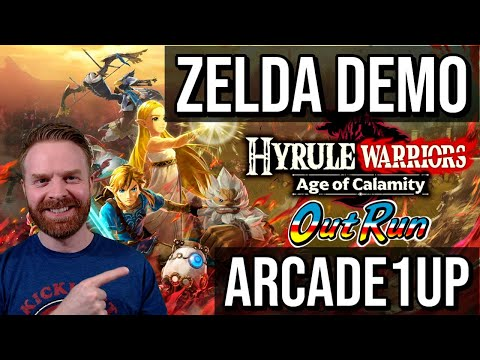 Hyrule Warriors Age of Calamity Demo + Arcade1Up OutRun Cabinet Confirmed from Mr. Sujano