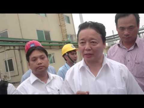 Bộ trưởng chỉ đạo Formosa đưa ống xả thải ngầm lên trên nếu có thể