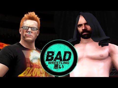 STEVE VS LARSON? NEW ERA FOR BAD WRESTLING! WWE 2K18 Gameplay