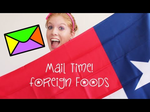 Trying Foreign Foods (Mail Time #2) thumbnail