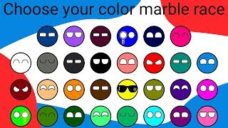 Marble Race Tournament | 30 Colors Special Amazing Marble Race