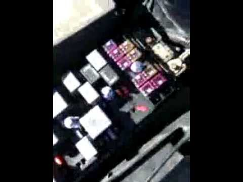 Fuse box locations on a \u002704-\u002708 Chevy Malibu - YouTube