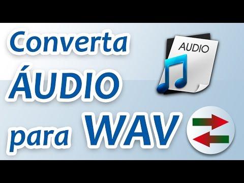 Converter audio para WAV