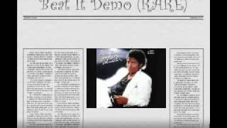 Beat It Demo Michael Jackson (RARE)