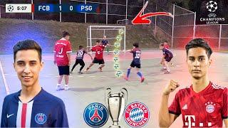 UEFA CHAMPIONS LEAGUE FINAL PSG vs FC BAYERN DESAFIOS DE FUTEBOL ‹ Rikinho ›