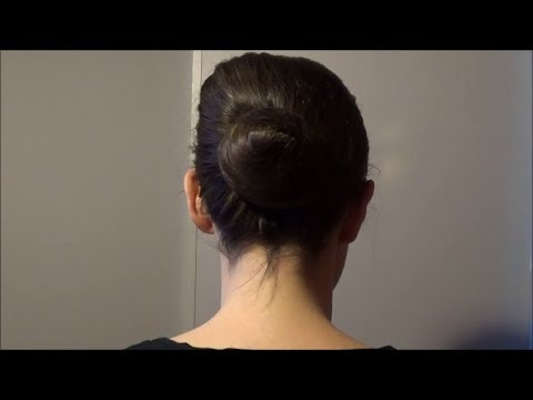 ballet-bun---tutorial-for-securing-long-hair---no-hairspray-or-products