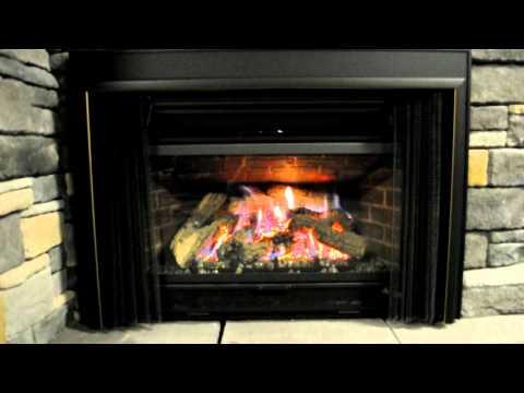 Mendota D40 Gas fireplace insert