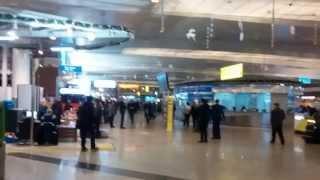 Шереметьево терминал D третий этаж зона регистрации(Аэропорт Шереметьево терминал D. Третий этаж (зона регистрации). Видео снято 22 декабря 2014 года., 2014-12-27T17:43:37.000Z)