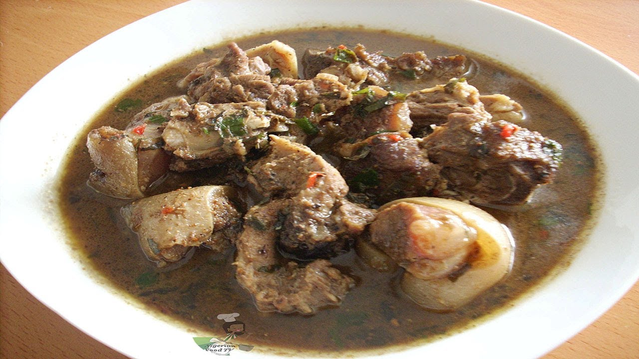 Nigerian Goat Meat Pepper Soup - Nigerian Food TV