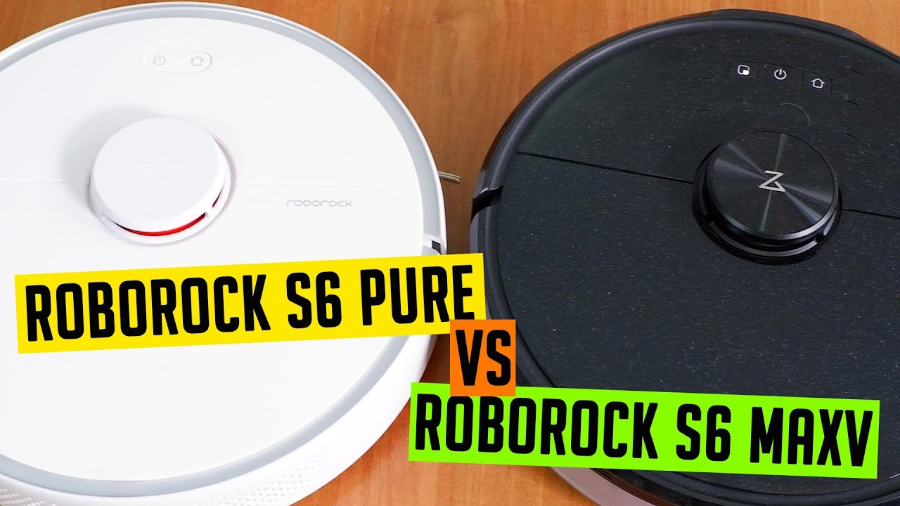 Roborock S6 vs. S6 Pure vs. S6 MaxV: Which Option is the Best